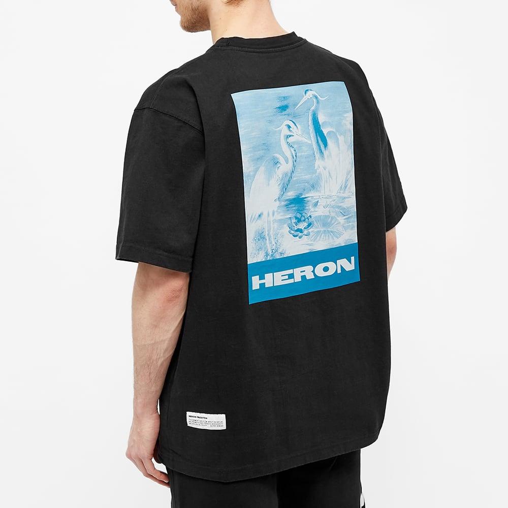 Heron Preston Herons Litho Oversized Tee - Black