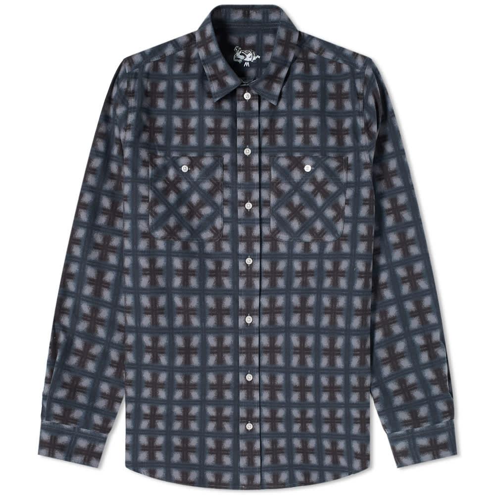 Dancer Flannel Shirt - Dark Navy
