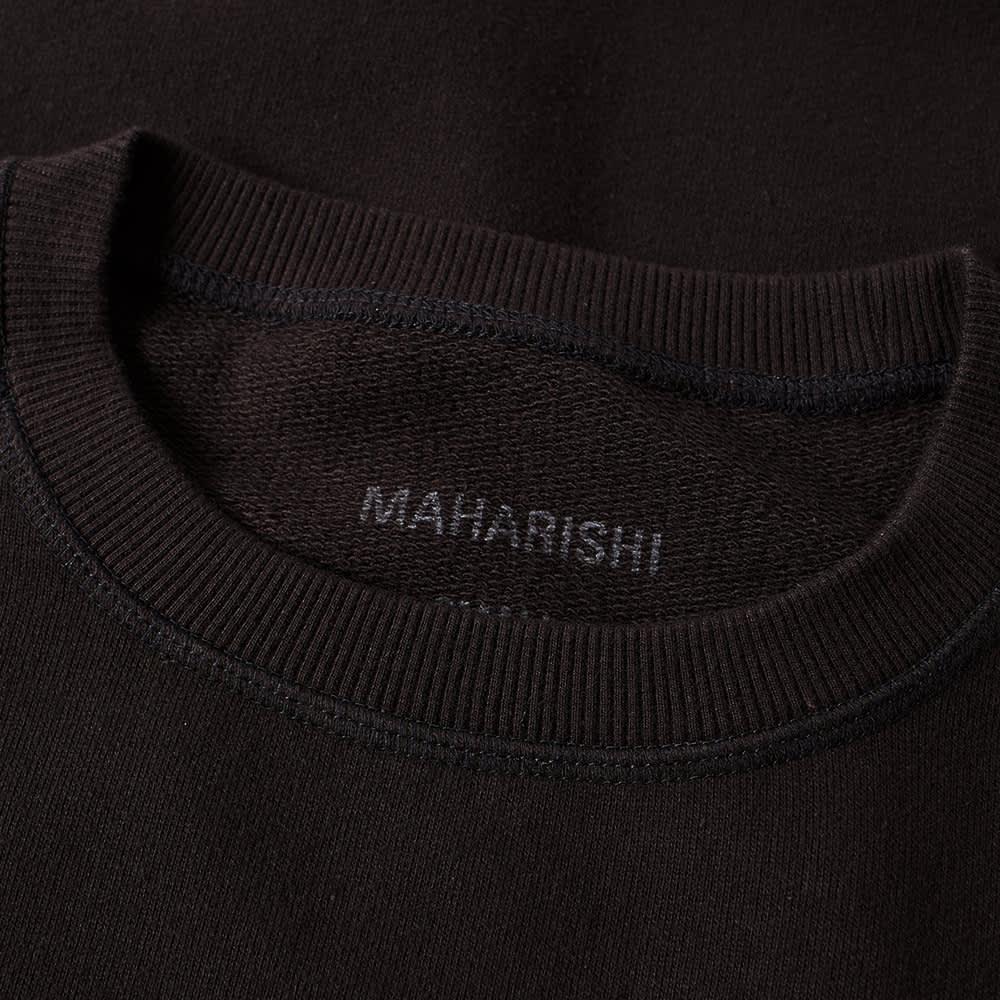Maharishi Original Dragon Crew Sweat - Black