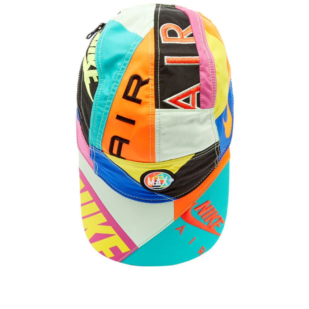 Nike x Atmos Patchwork AW84 Hat - Racing Blue & Multi Crown