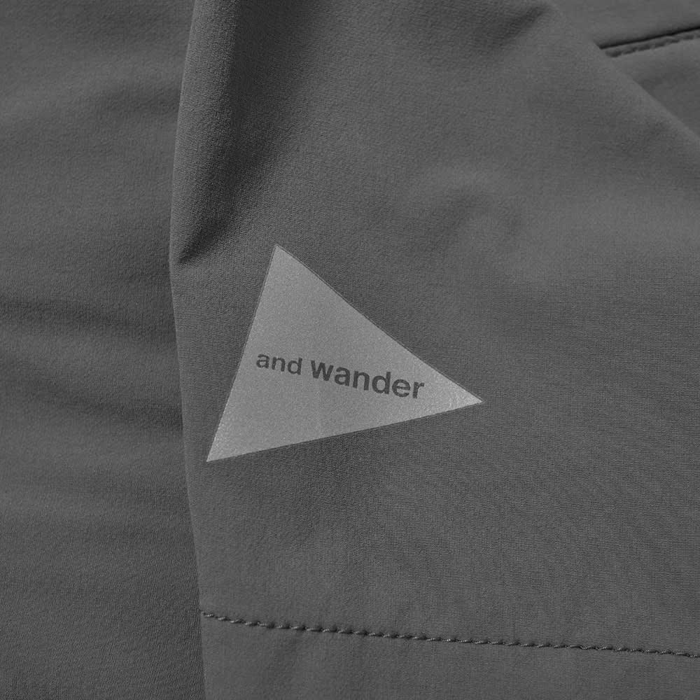 and wander Trek Short - Grey