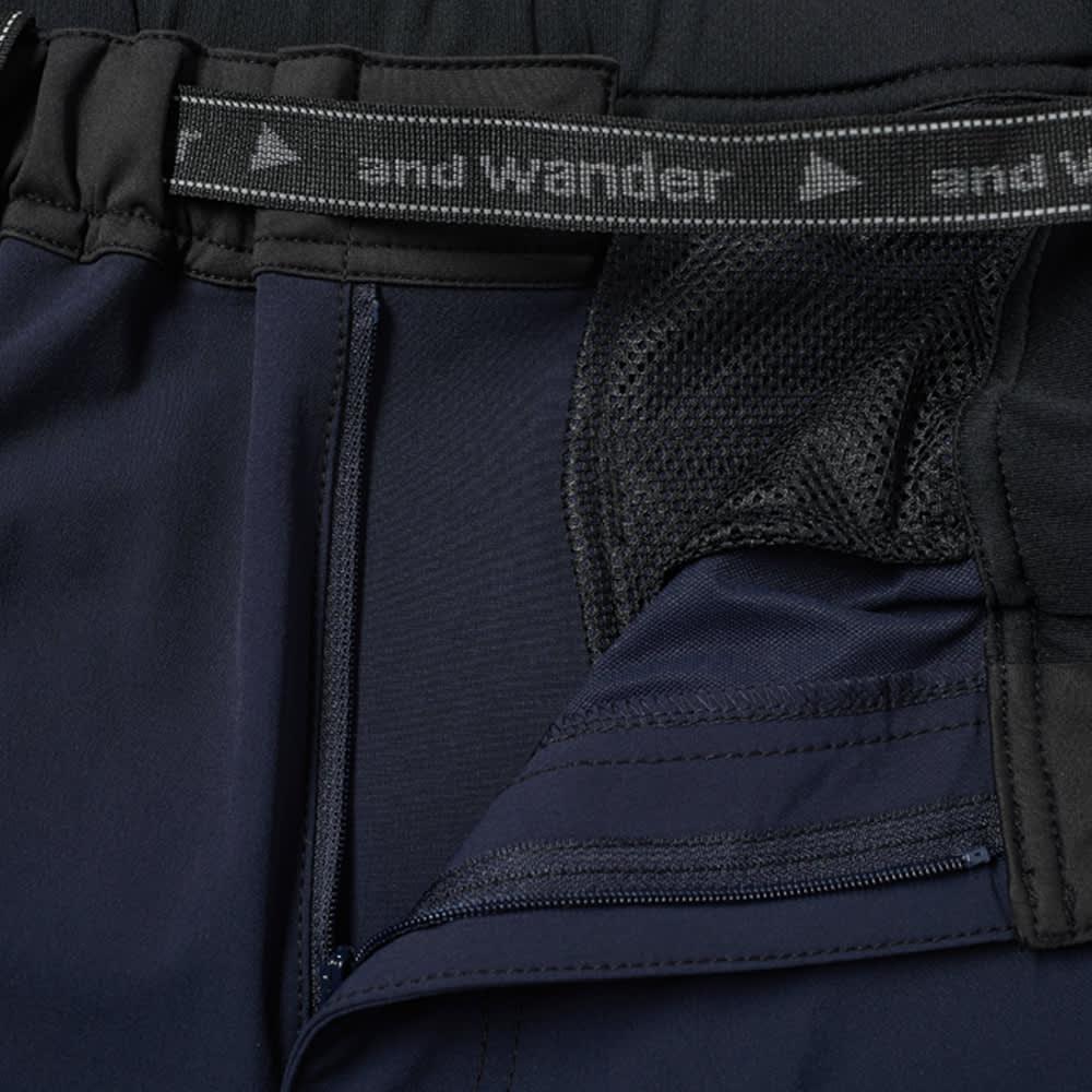 and wander Trek Short - Navy