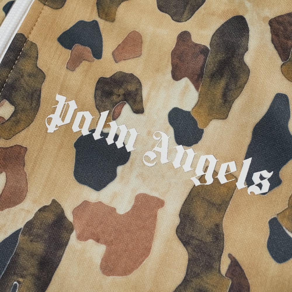 Palm Angels Camo Track Jacket - Military & White