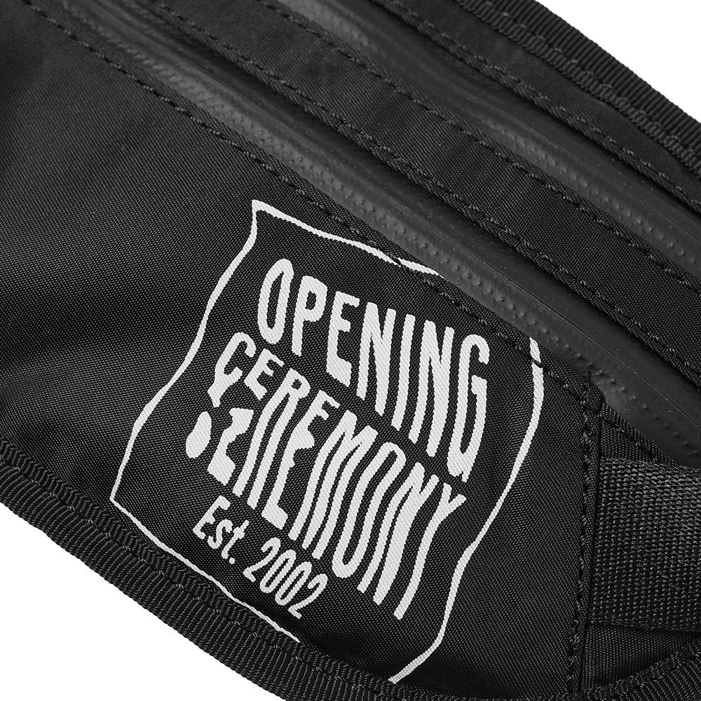 Opening Ceremony Logo Waist Bag - Black & White