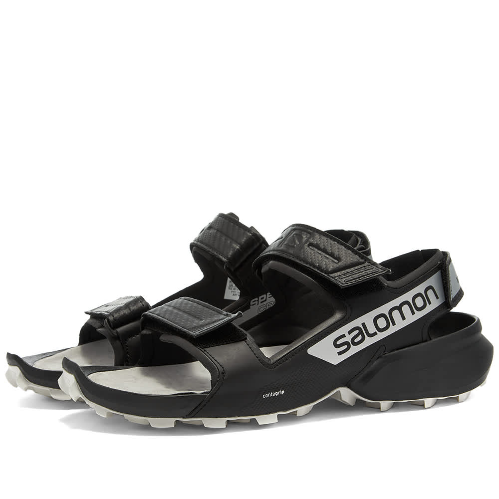 and wander x Salomon Speedcross Sandal - Black