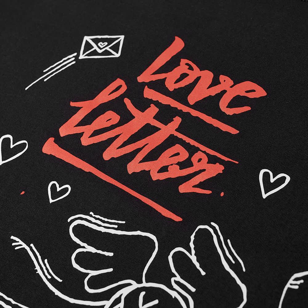 Soulland X Mr. Andre Colin Love Letter Tee - Black