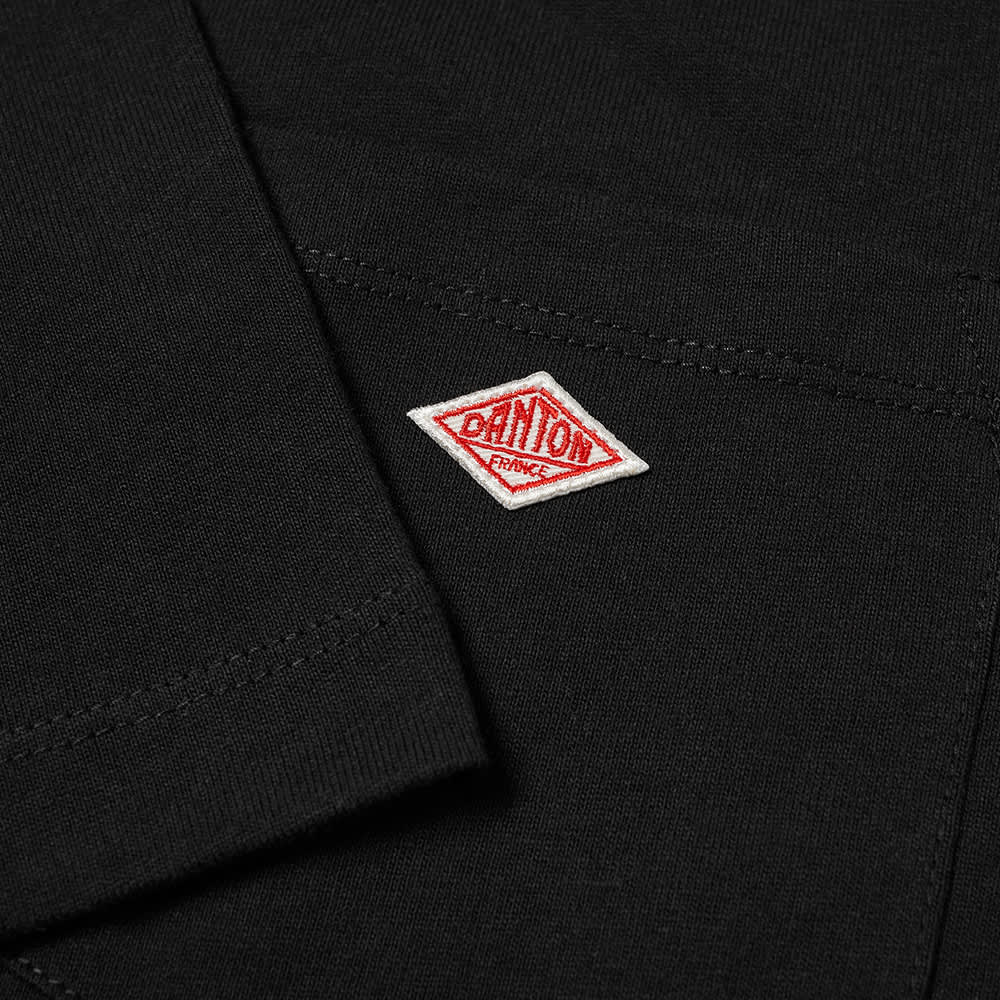Danton Crew Neck Pocket Tee - Black