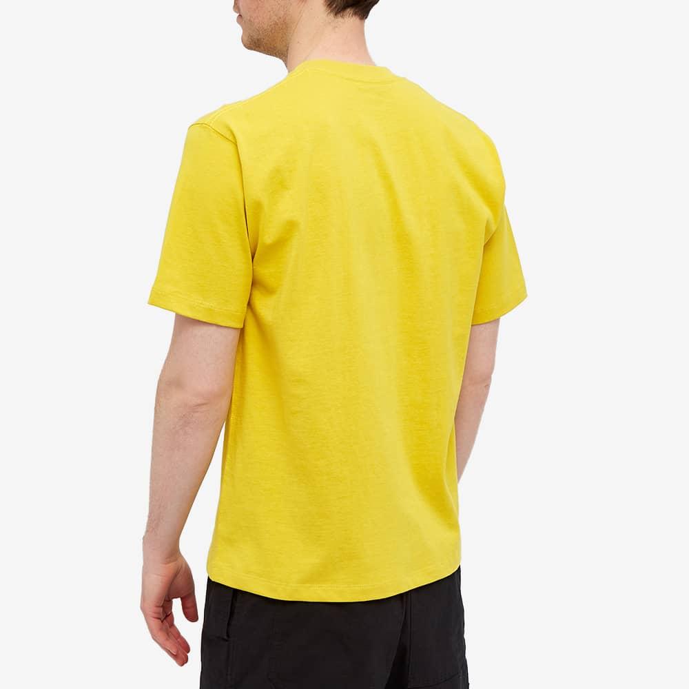 Danton Crew Neck Pocket Tee - New Yellow
