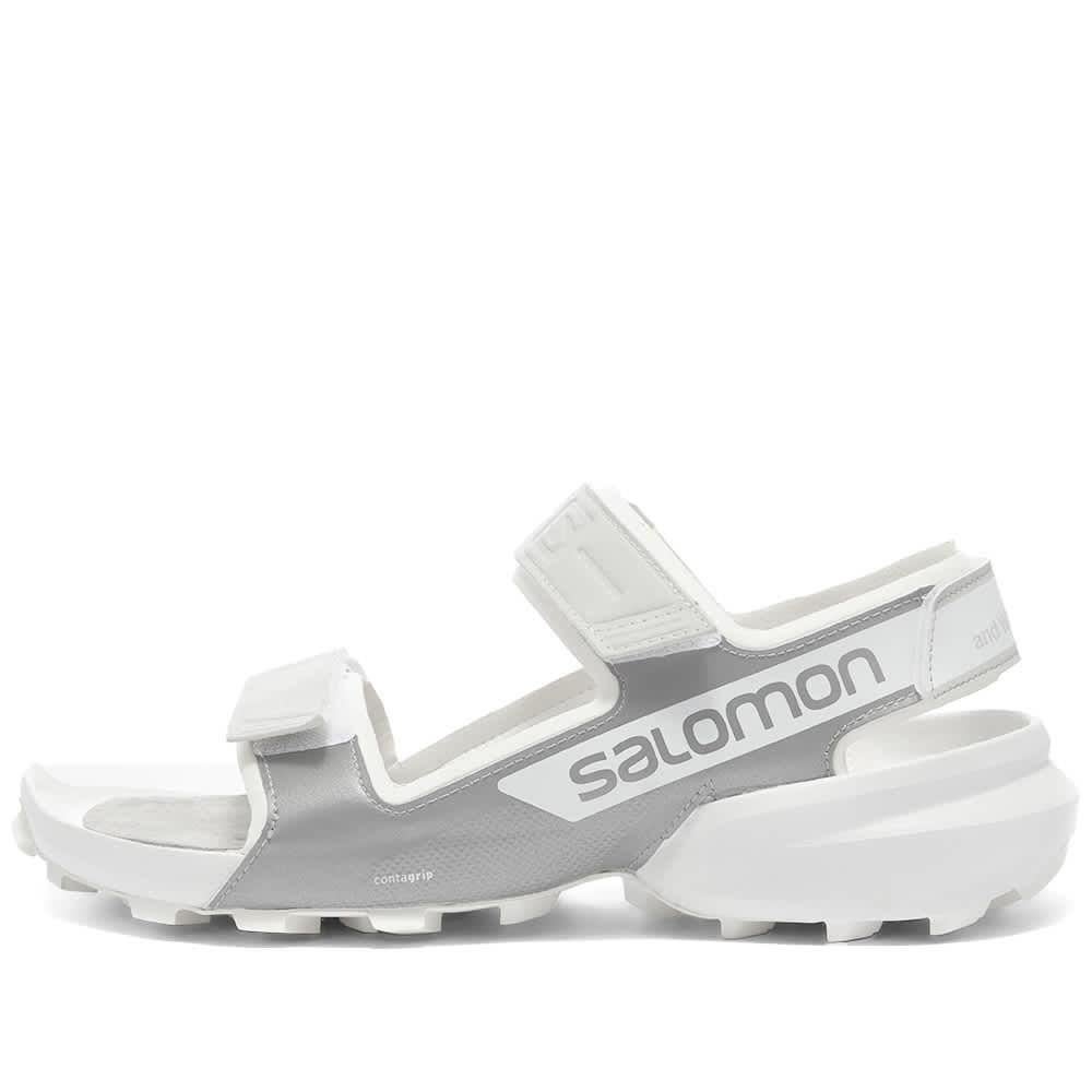 And Wander x Salomon Speedhike Sandal - White