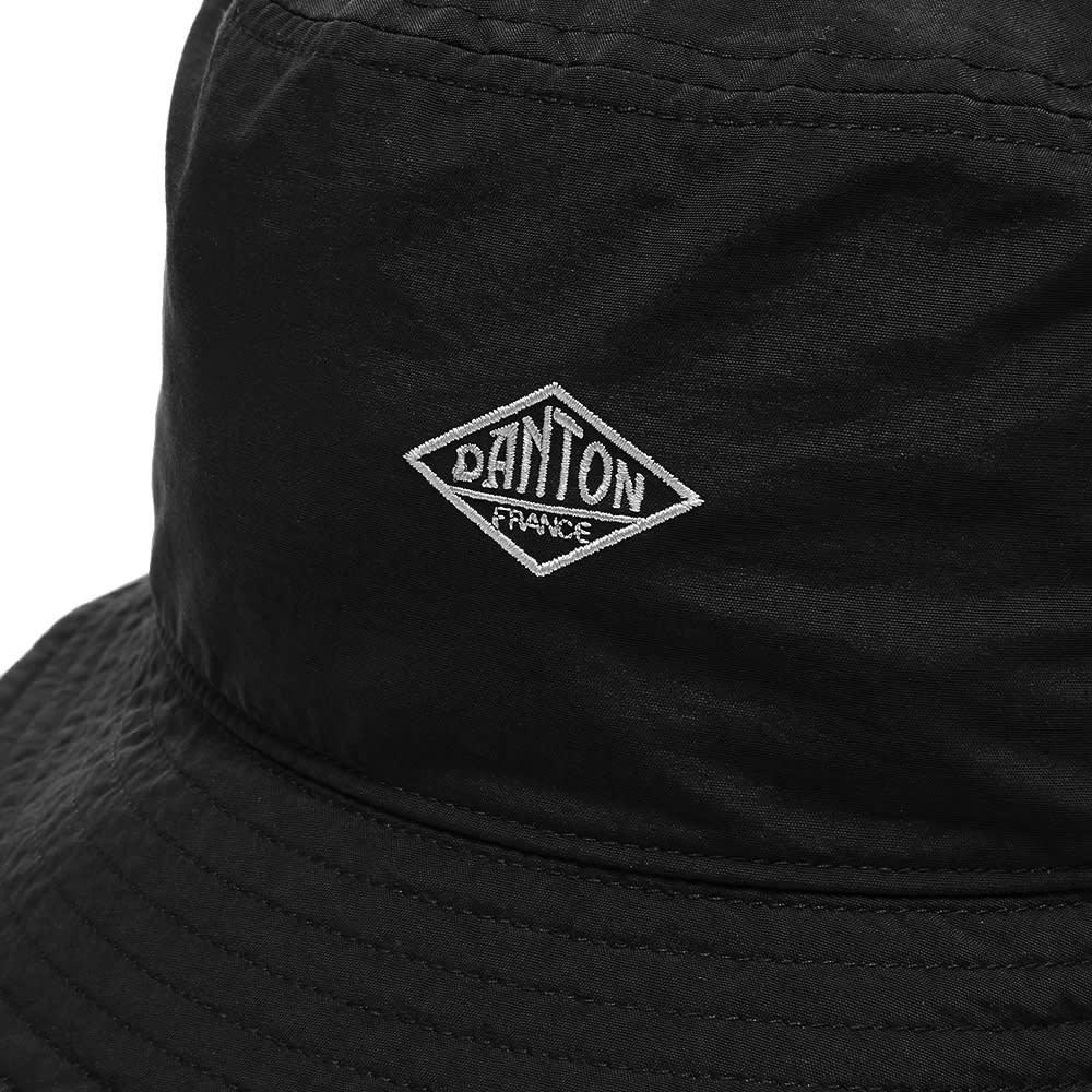 Danton Nylon Bucket Hat - Black
