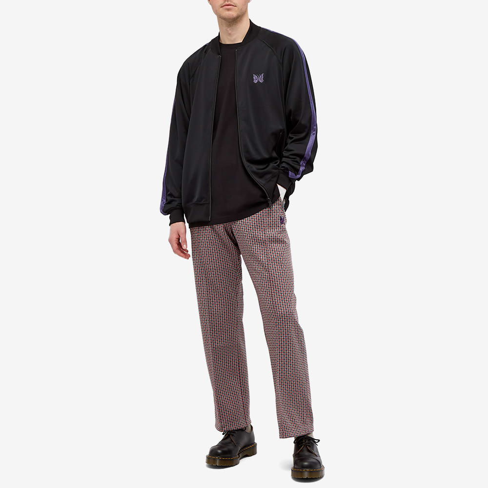 Needles Poly Patterned Track Pant - Windmill