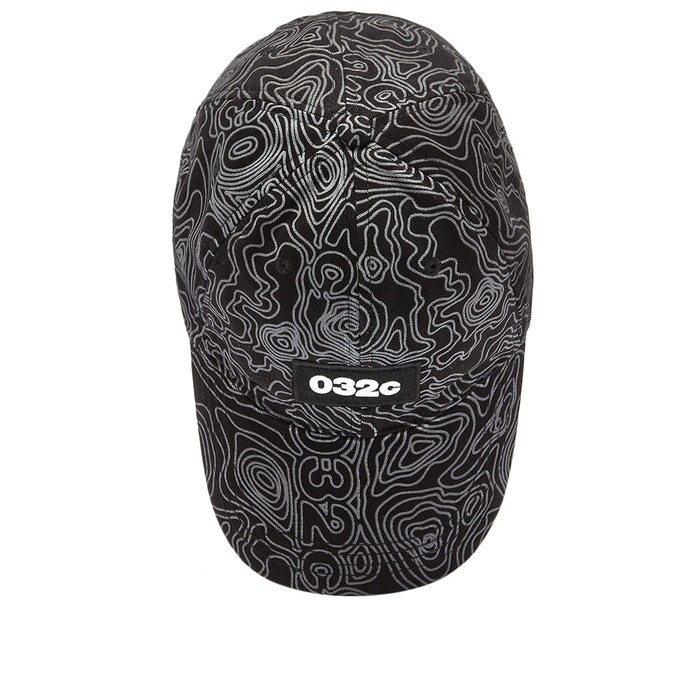 032c Topos Print Cap - Black