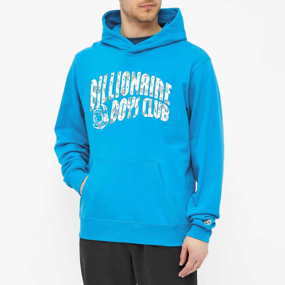 Billionaire Boys Club Arch Logo Popover Hoody - Aqua