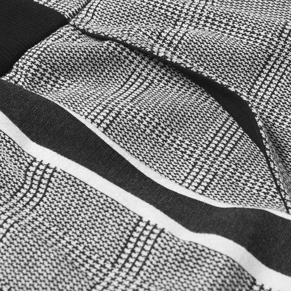 Balmain Prince of Wales Check Sweat Pant - Grey