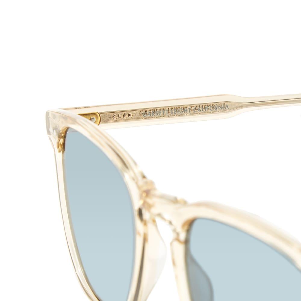 Garrett Leight Brooks Sunglasses - Champagne & Blue Smoke