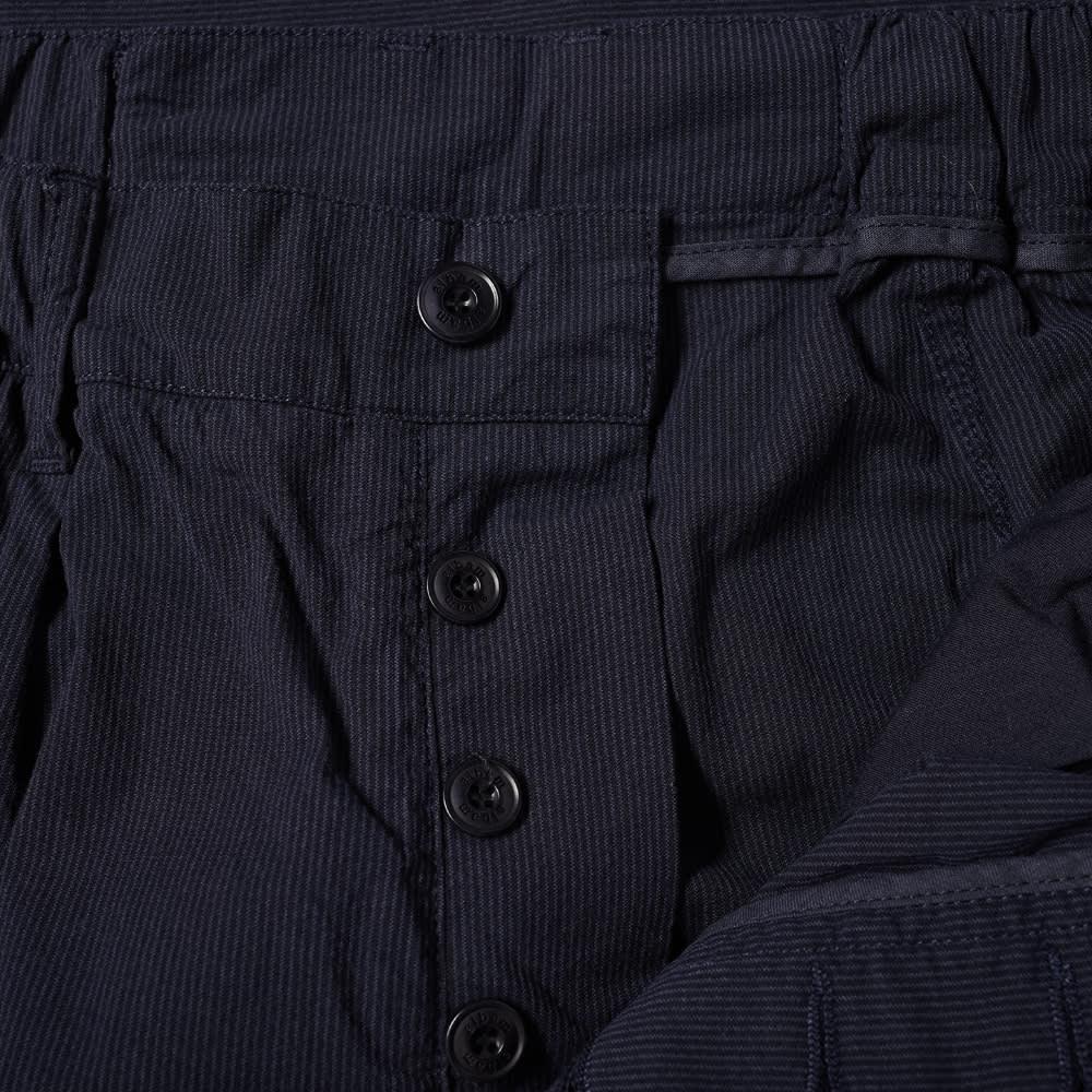 Albam Seersucker Trouser - Navy Seersucker