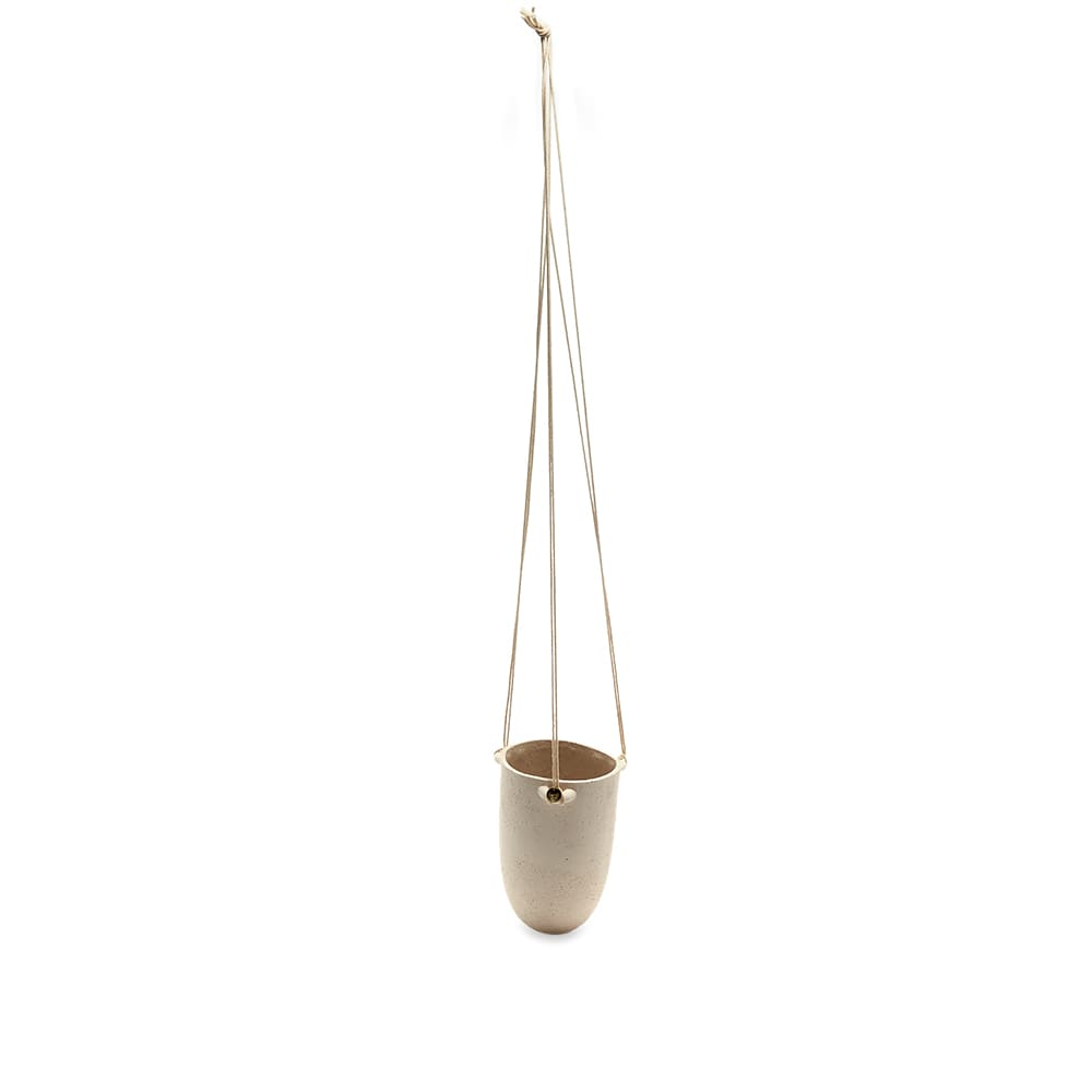 Ferm Living Speckle Hanging Pot Small - Off White
