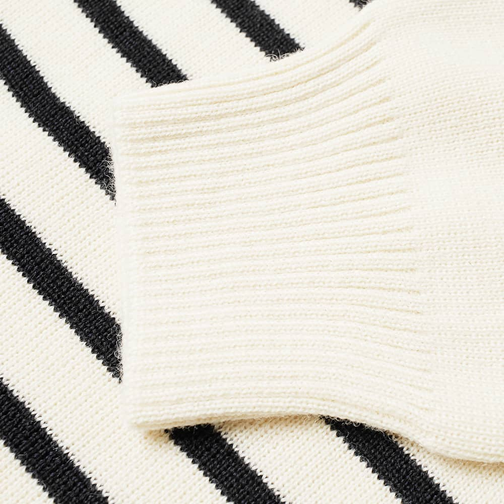 Armor-Lux Molene Stripe Sailor Knit - Natural & Navy