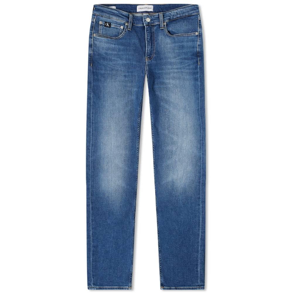 Calvin Klein Slim Medium Washed Jean - Denim