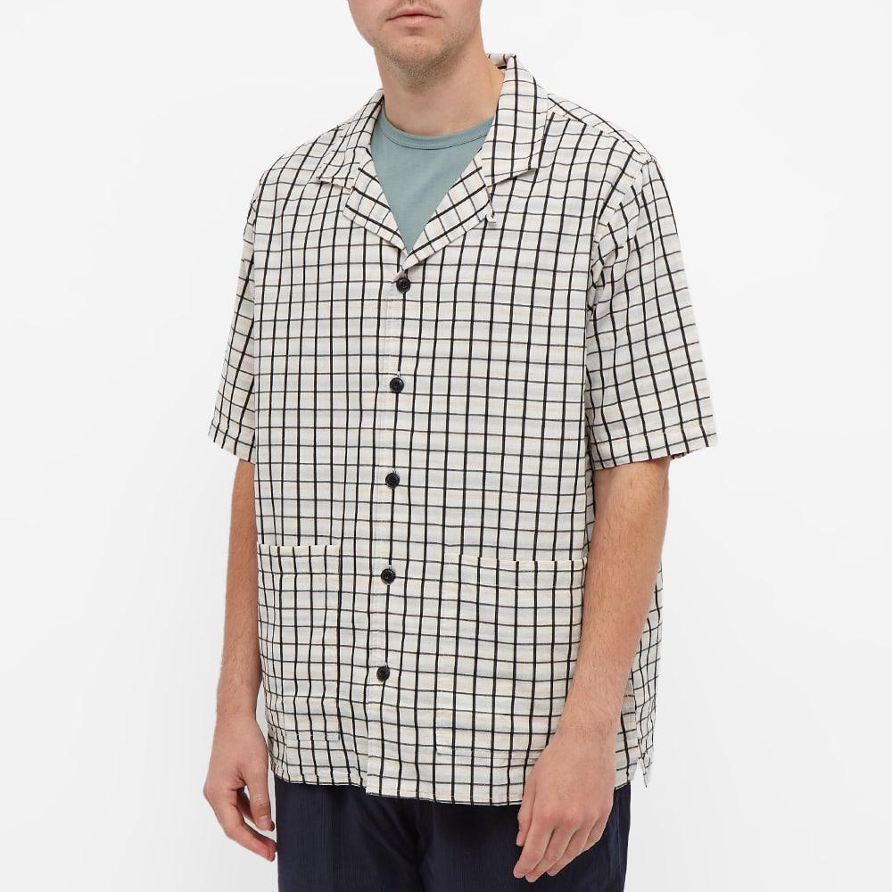 Albam Alternate Seersucker Vacation Shirt - Ombre Check