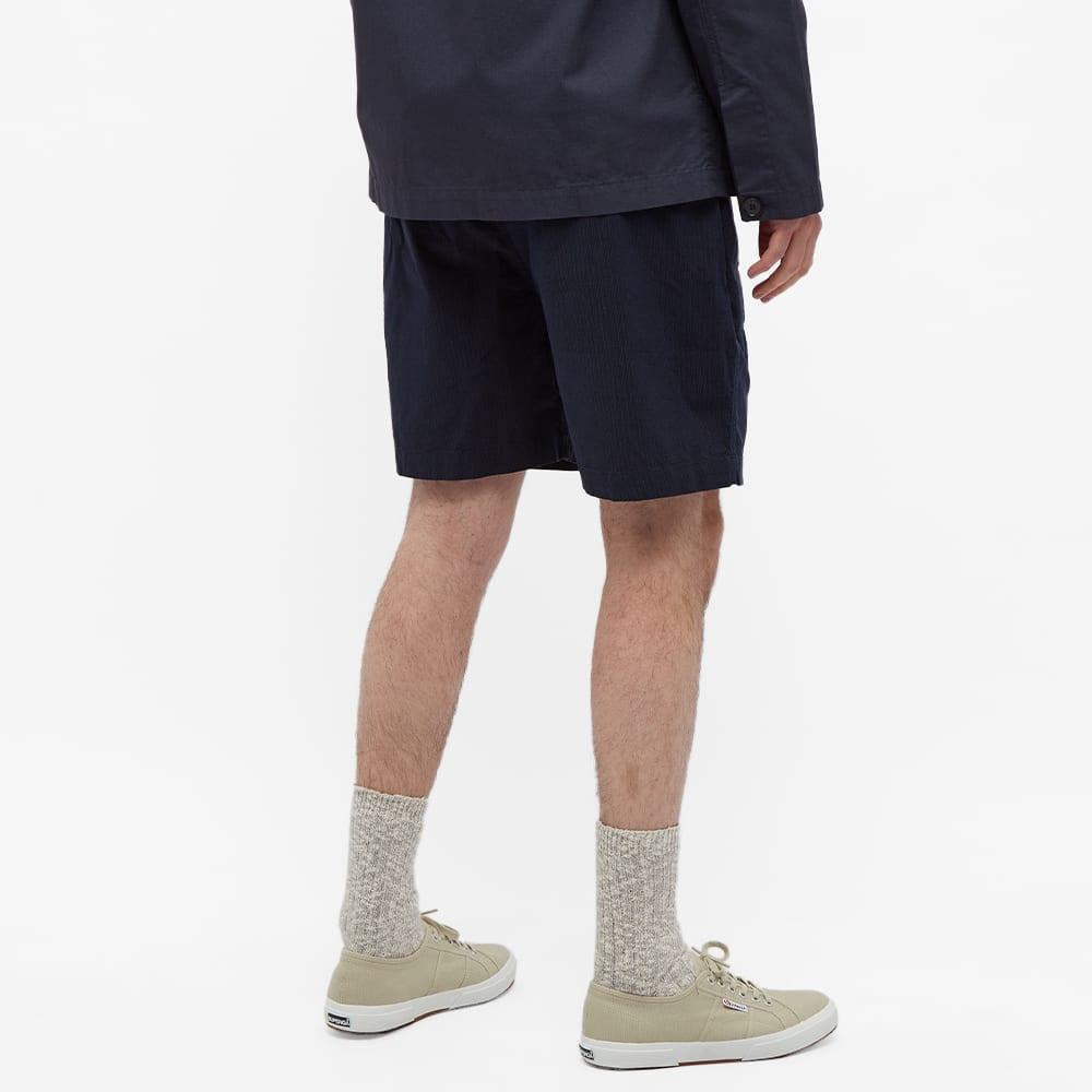 Albam Seersucker Short - Navy Seersucker