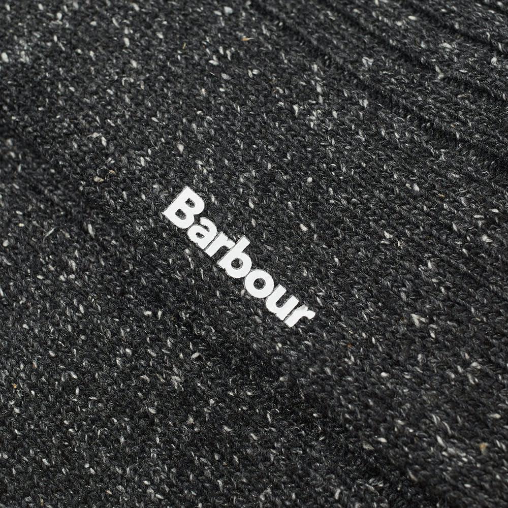 Barbour Houghton Sock - Charcoal & Ochre