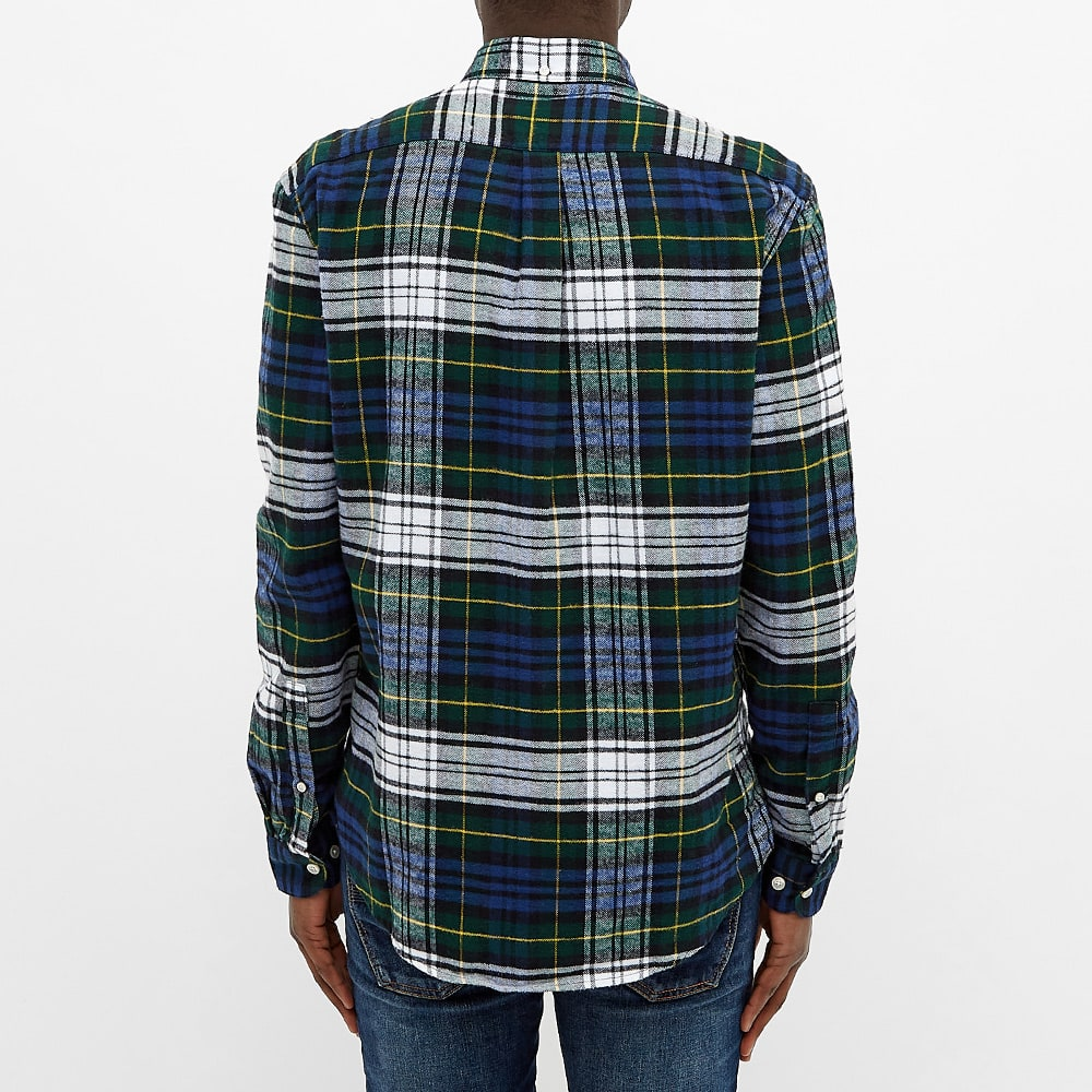 Portuguese Flannel Button Down Sacramento Check Shirt - Tartan