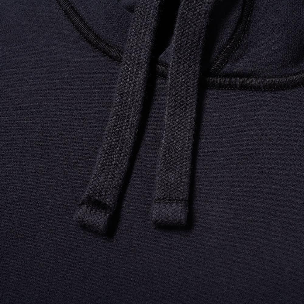 Stone Island Garment Dyed Popover Hoody - Navy