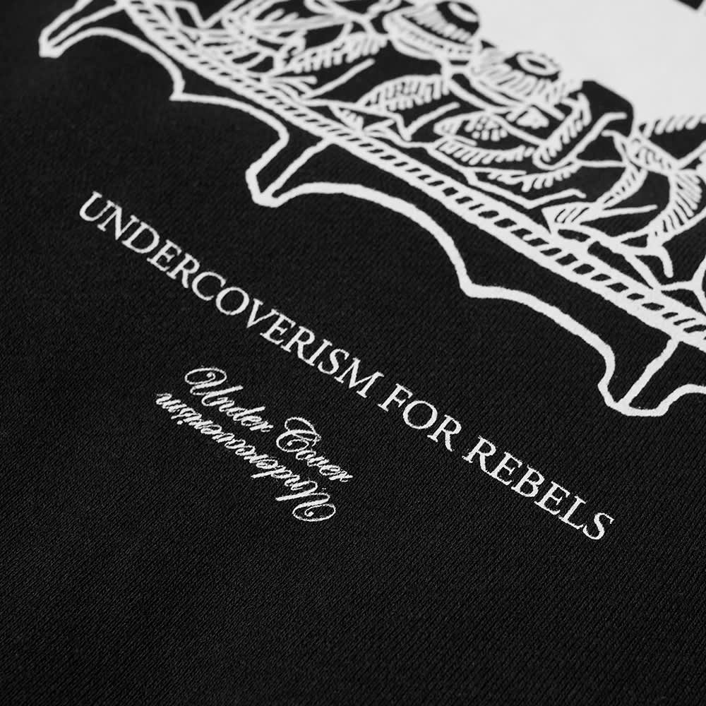 Undercoverism For Rebels Crew Sweat - Black