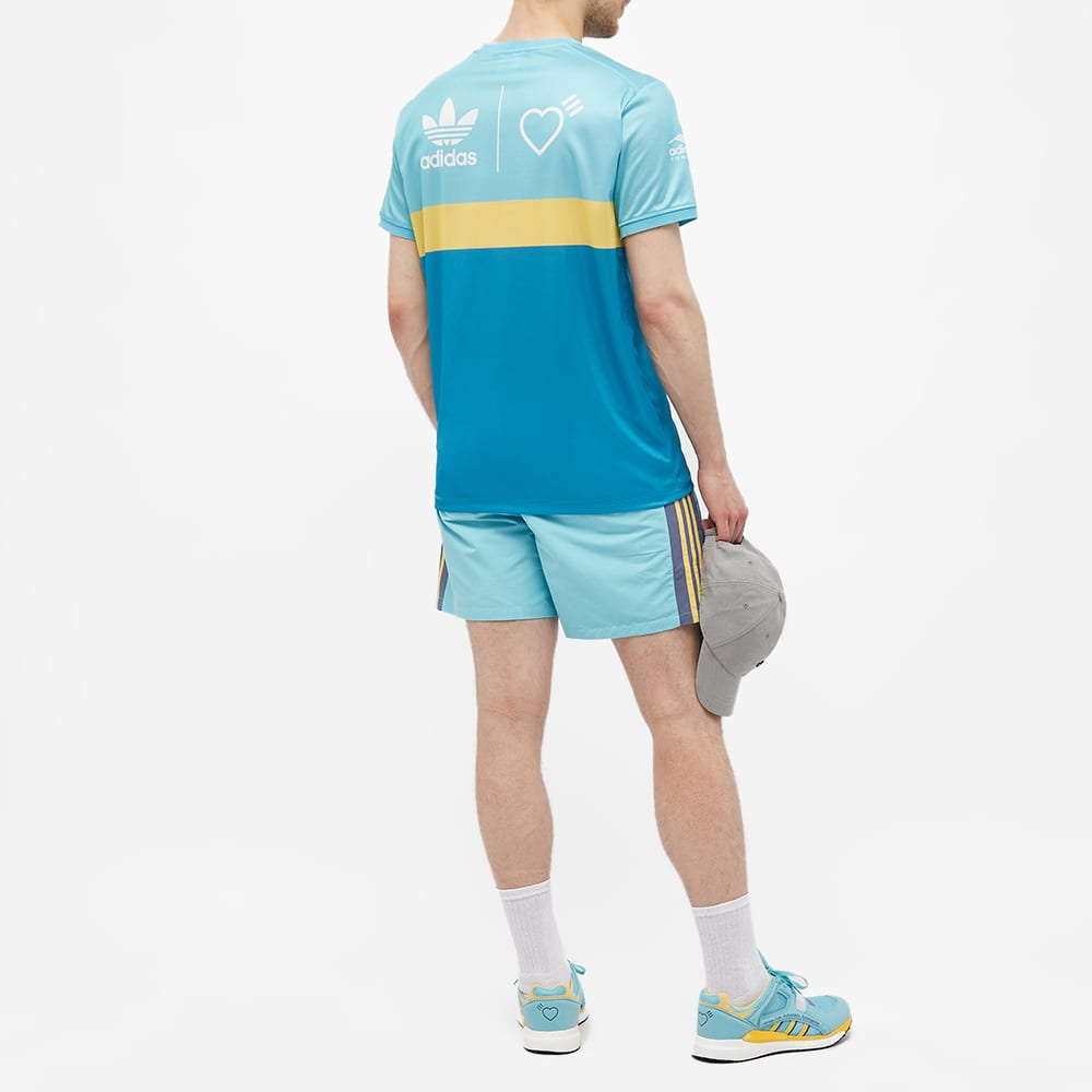 Adidas x Human Made Graphic Tee - Aqua