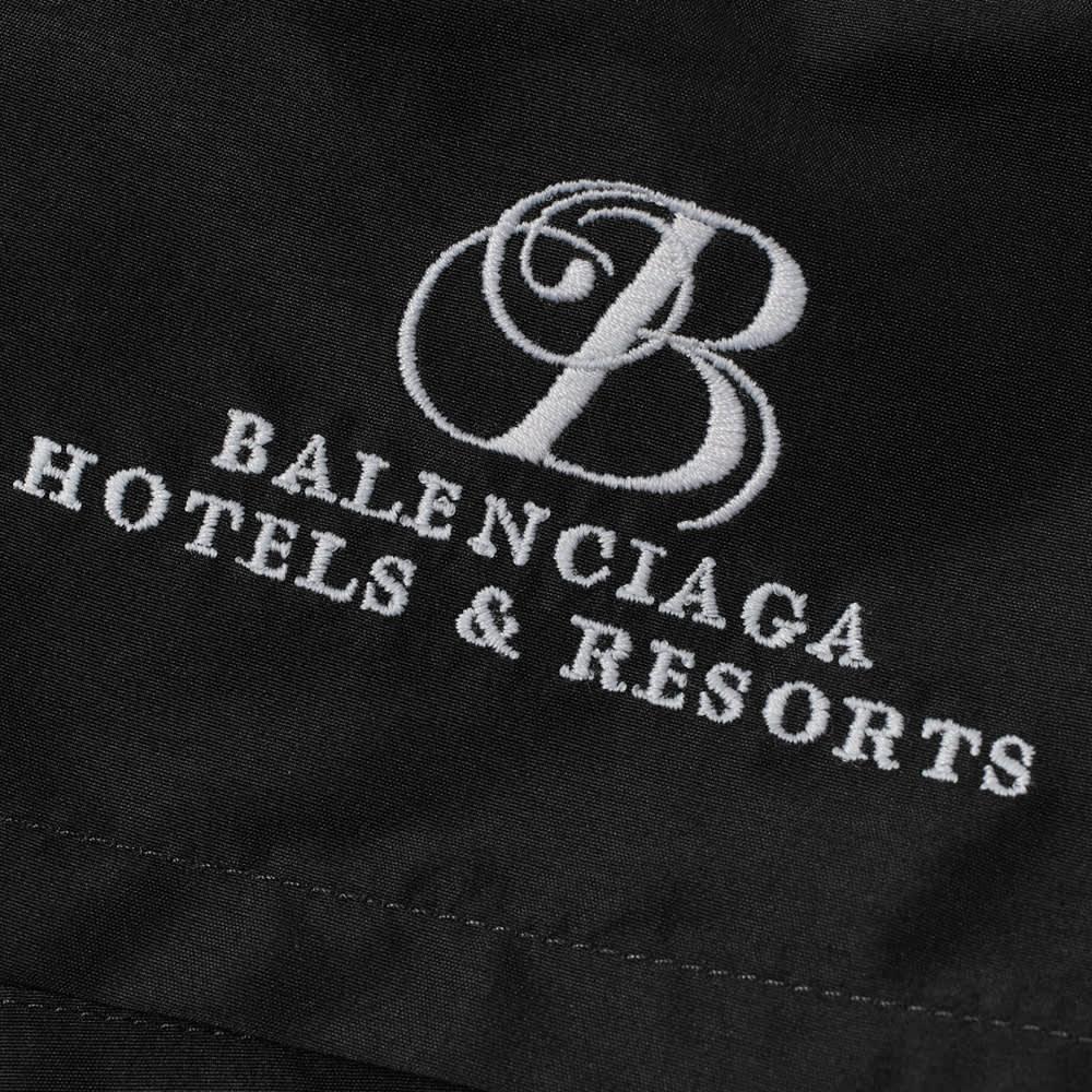 Balenciaga Resort Logo Swimshort - Black