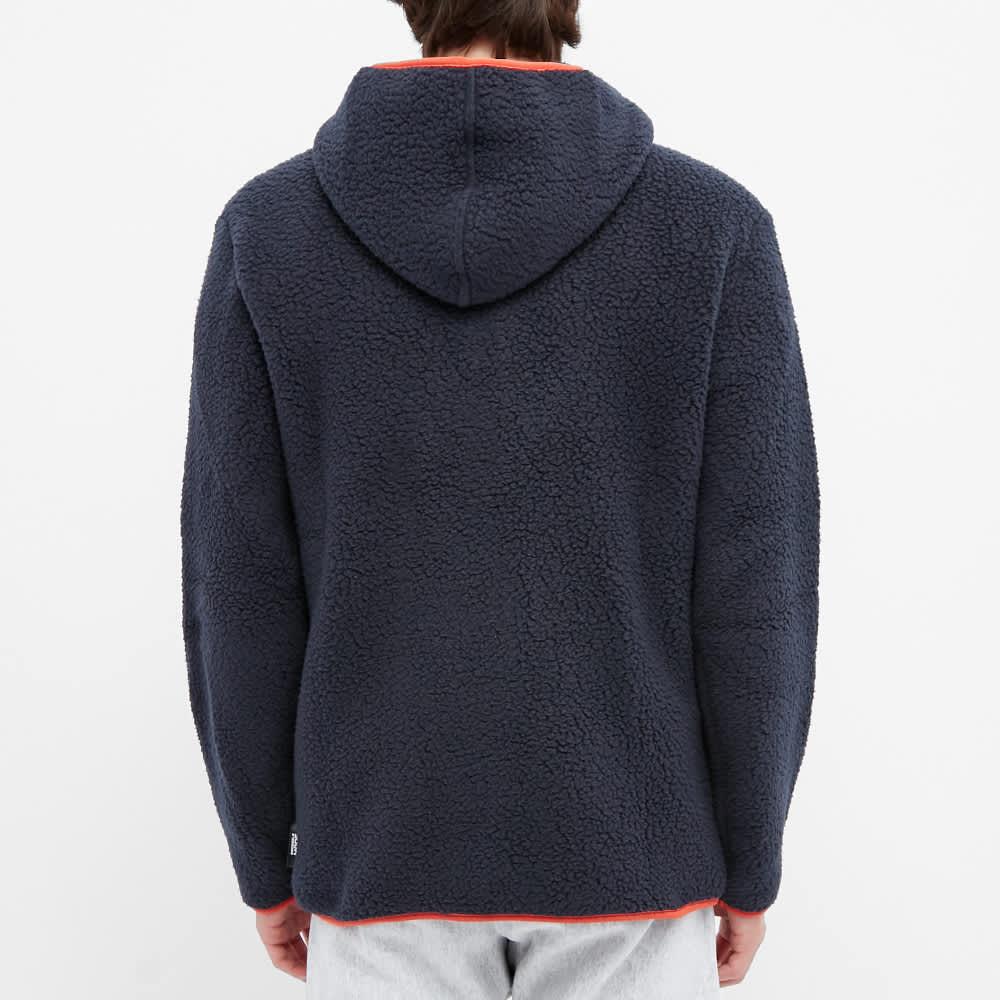 Champion Reverse Weave Polartec Half Zip Hoody - Navy