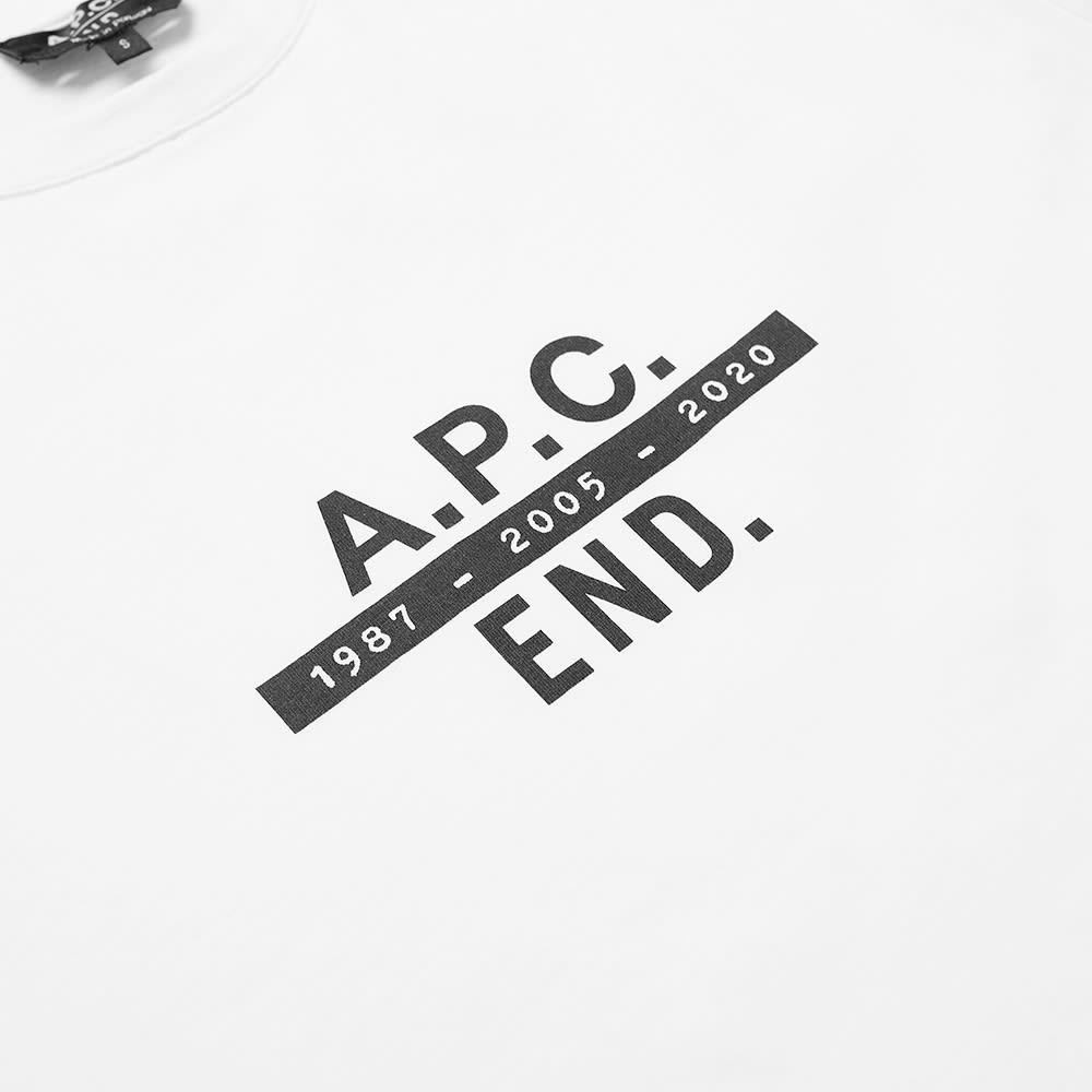 END. x A.P.C. Carlos Tee - White