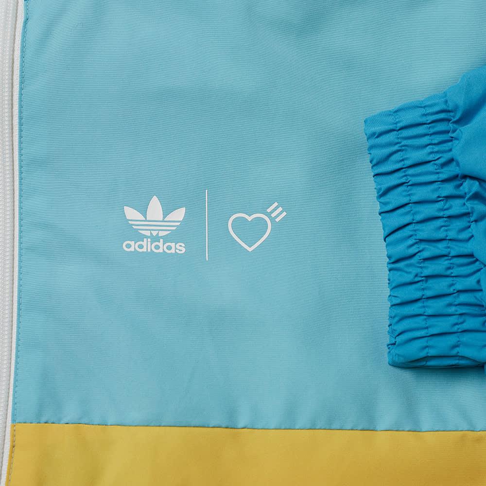 Adidas x Human Made Windbreaker - Aqua