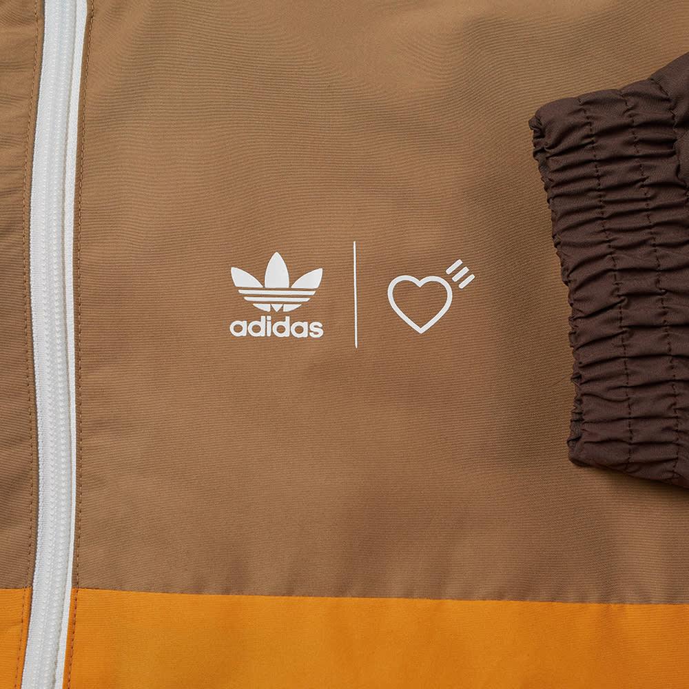 Adidas x Human Made Windbreaker - Cardboard & Tanger
