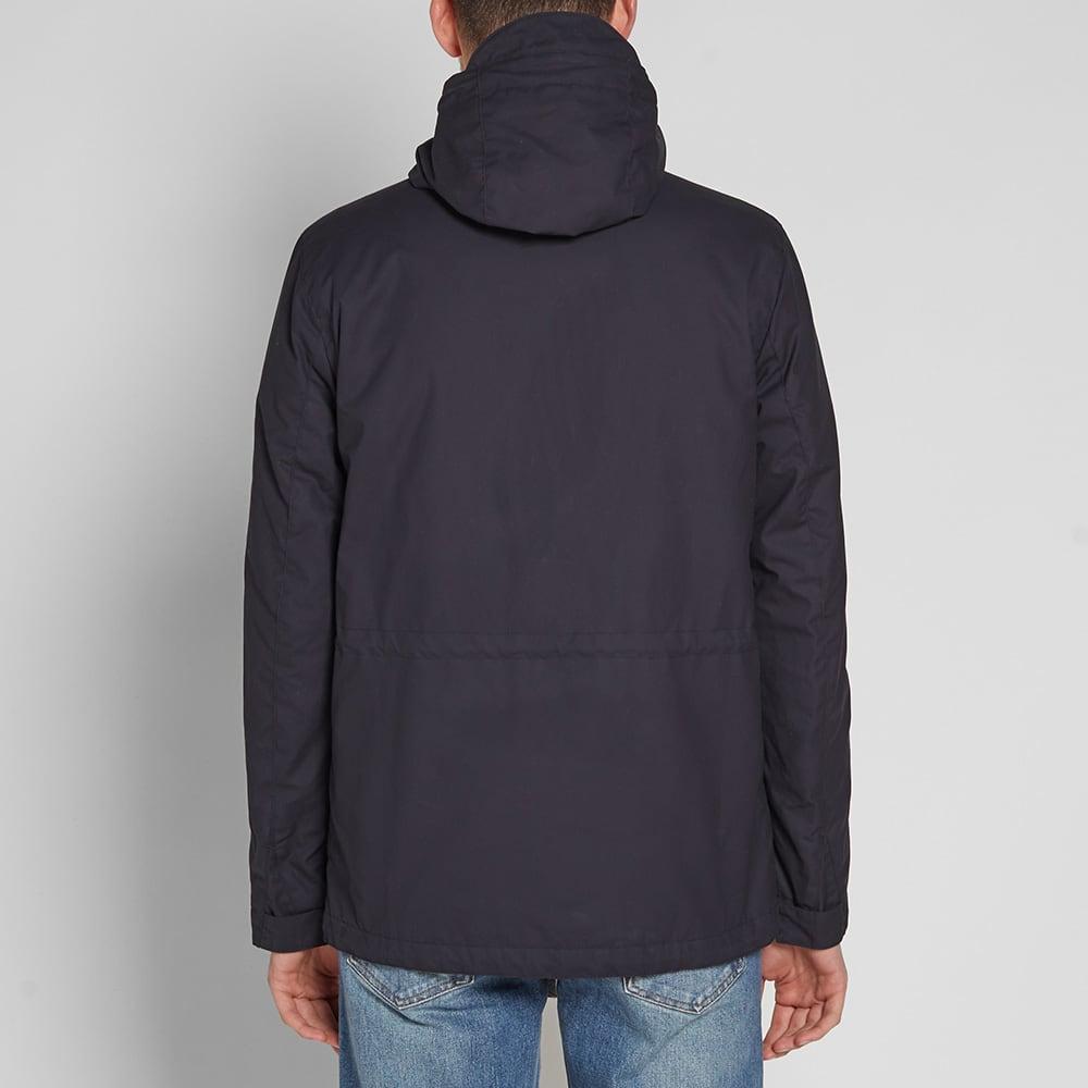 Norse Projects Nunk Waxed Cotton Jacket - Dark Navy