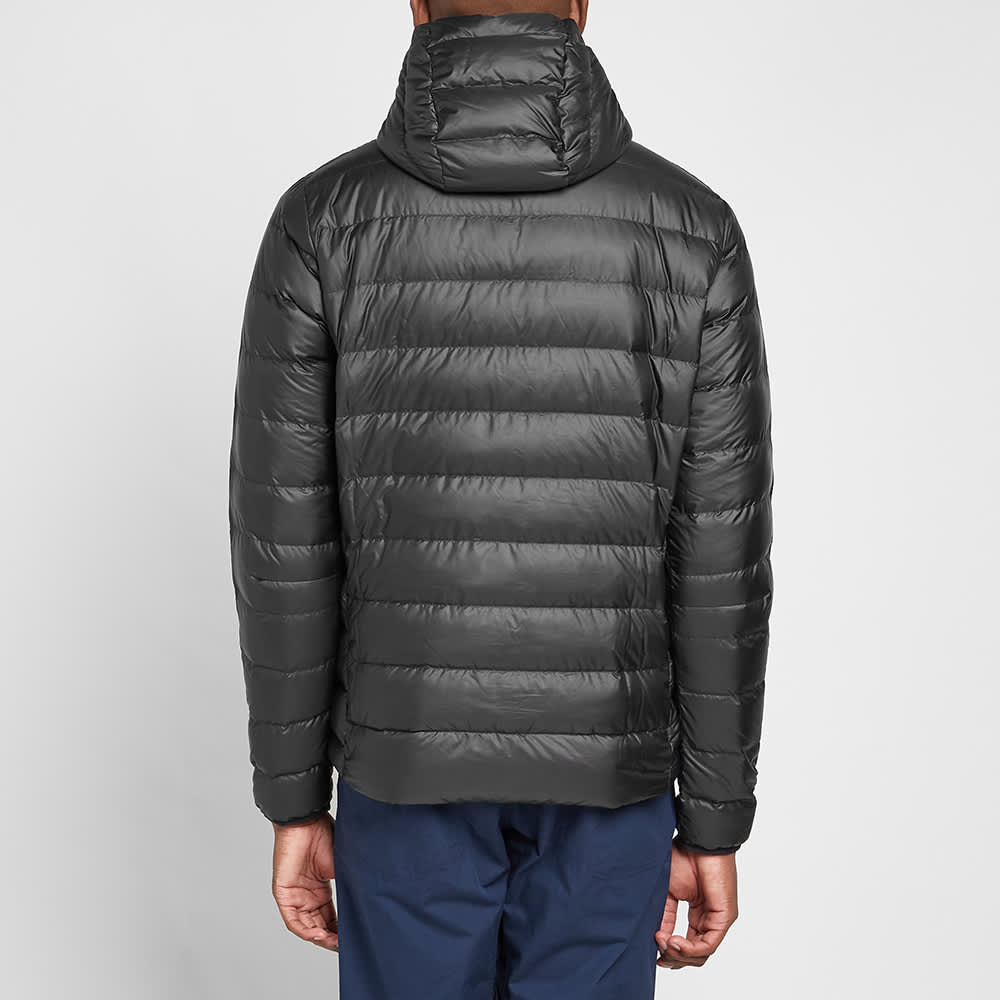 Patagonia Down Sweater Hooded Pullover - Black