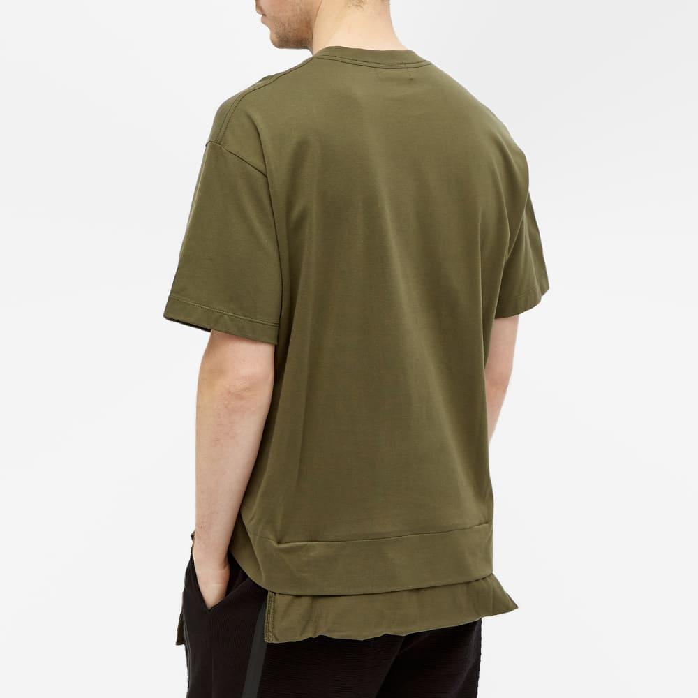 Ambush Convertible Waist Bag Tee - Dark Green