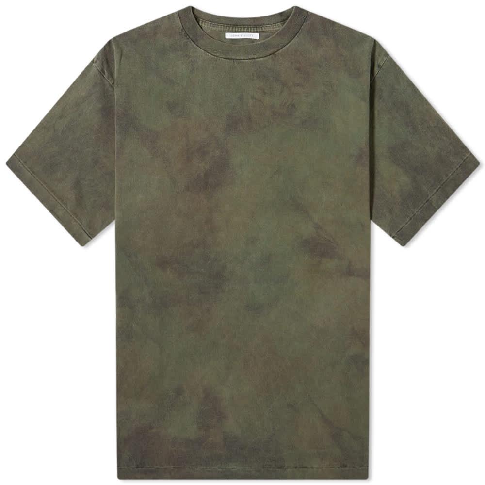 John Elliott Tie Dye University Tee - Steelhead Marble Dye