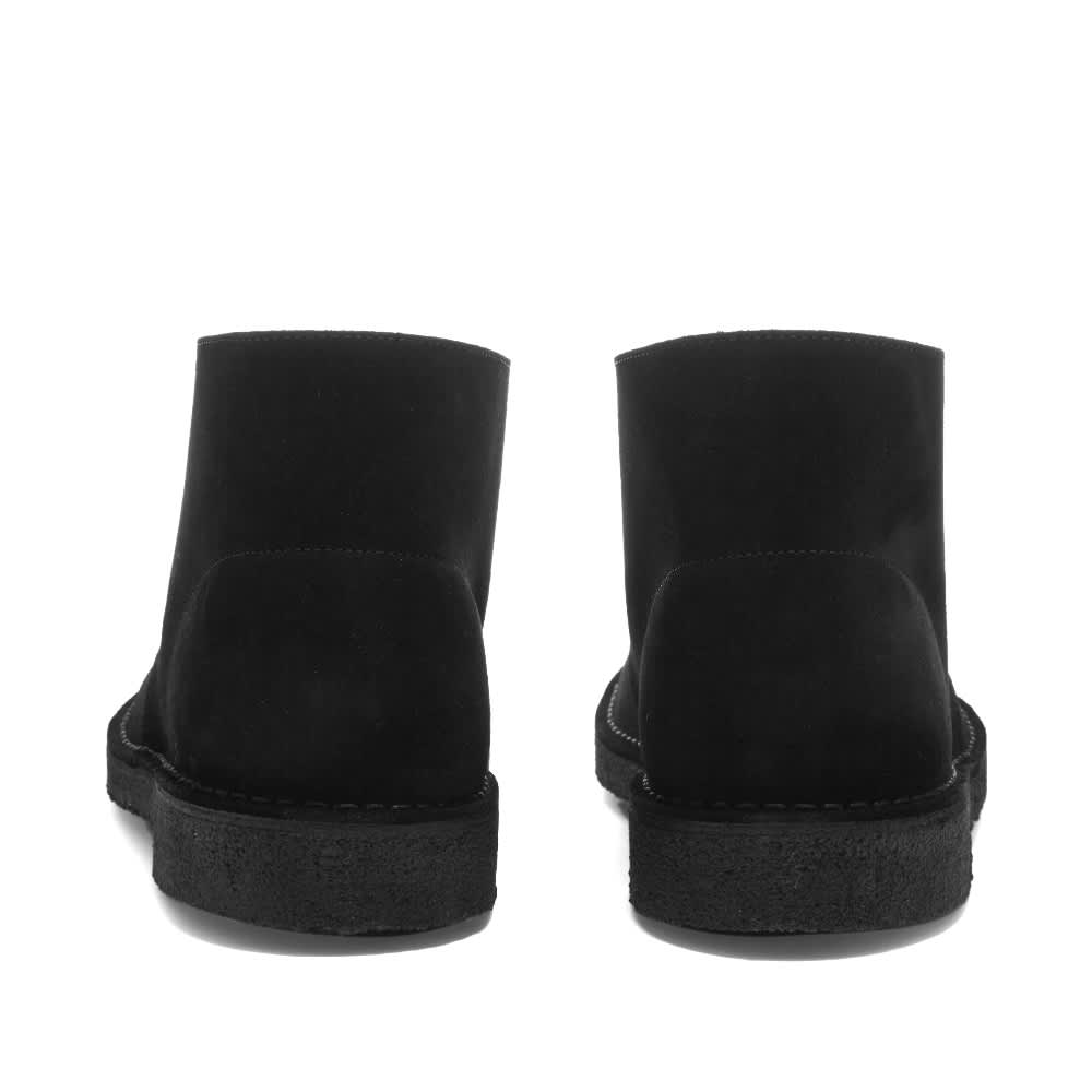 Palm Angels X Clarks Logo Desert Boot - Black & White