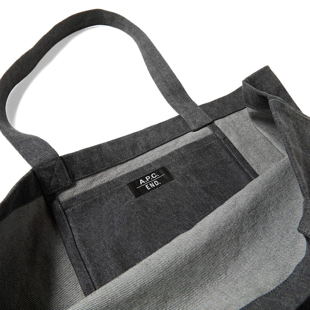 END. x A.P.C. Shopping Bag - Grey