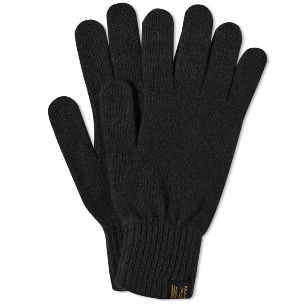 Maharishi Miltype Gloves - Black