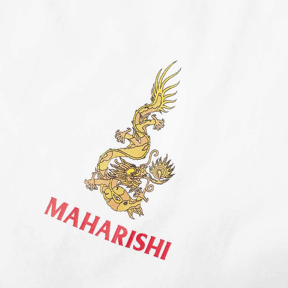 Maharishi Art Of War And Peace Tee - White