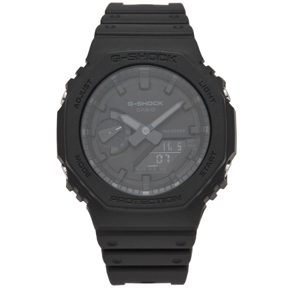 Casio G-Shock GA-2100 New Carbon Watch - Triple Black
