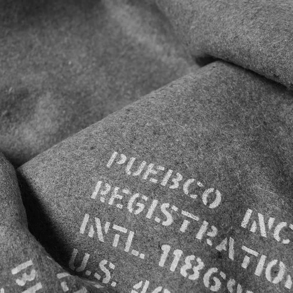 Puebco Recycled Wool & Cotton Felted Blanket - Grey