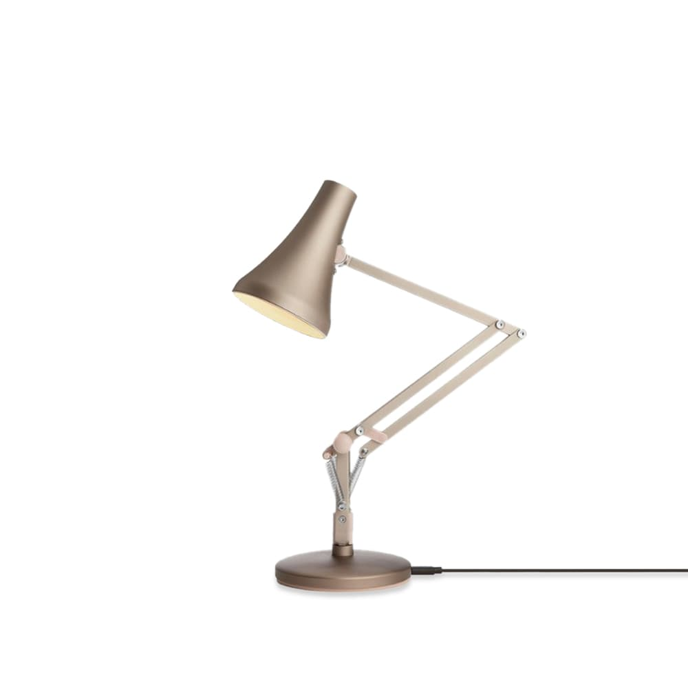 Anglepoise Type 90 Mini USB Desk Lamp - Warm Silver & Blush