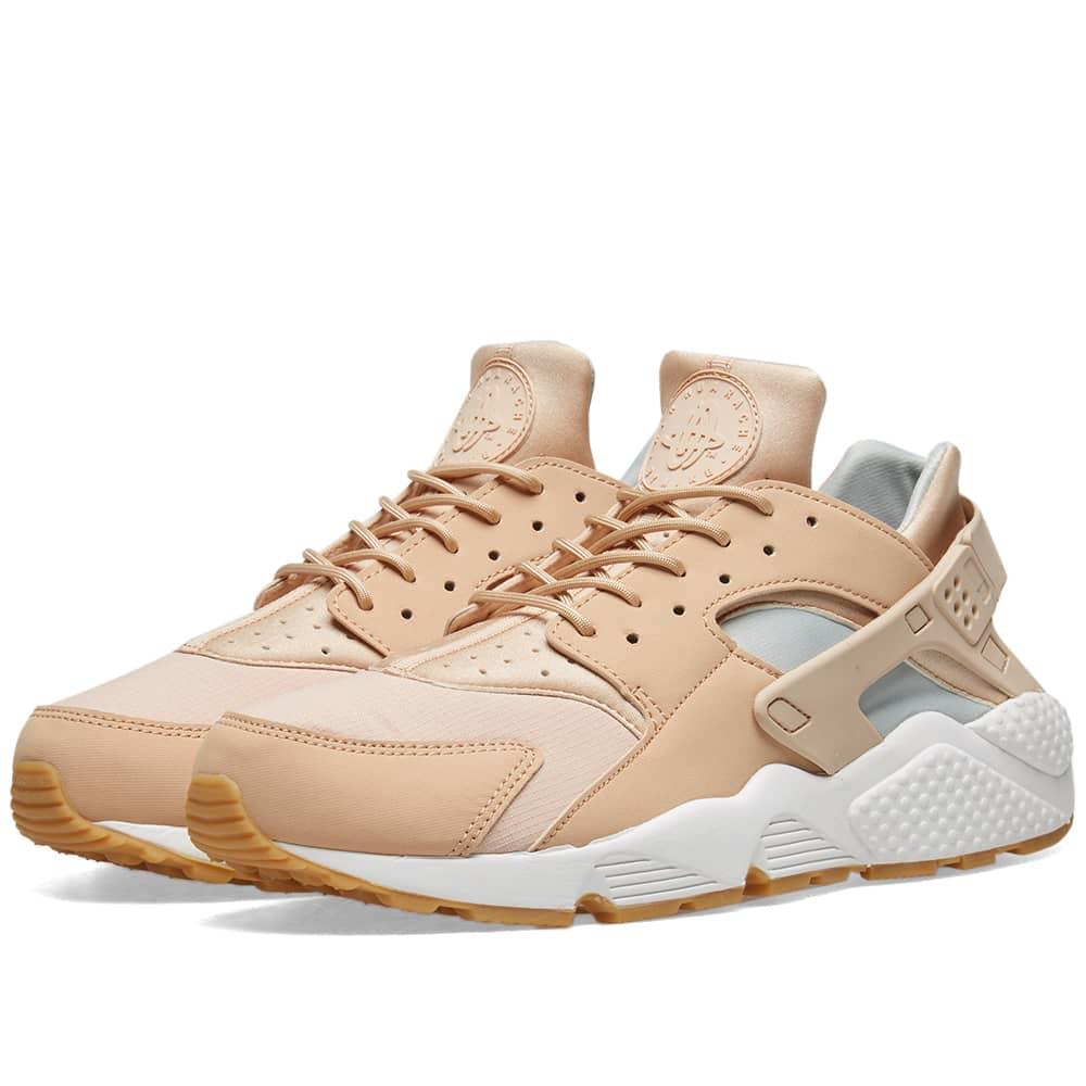 Nike Air Huarache Run W Beige, White