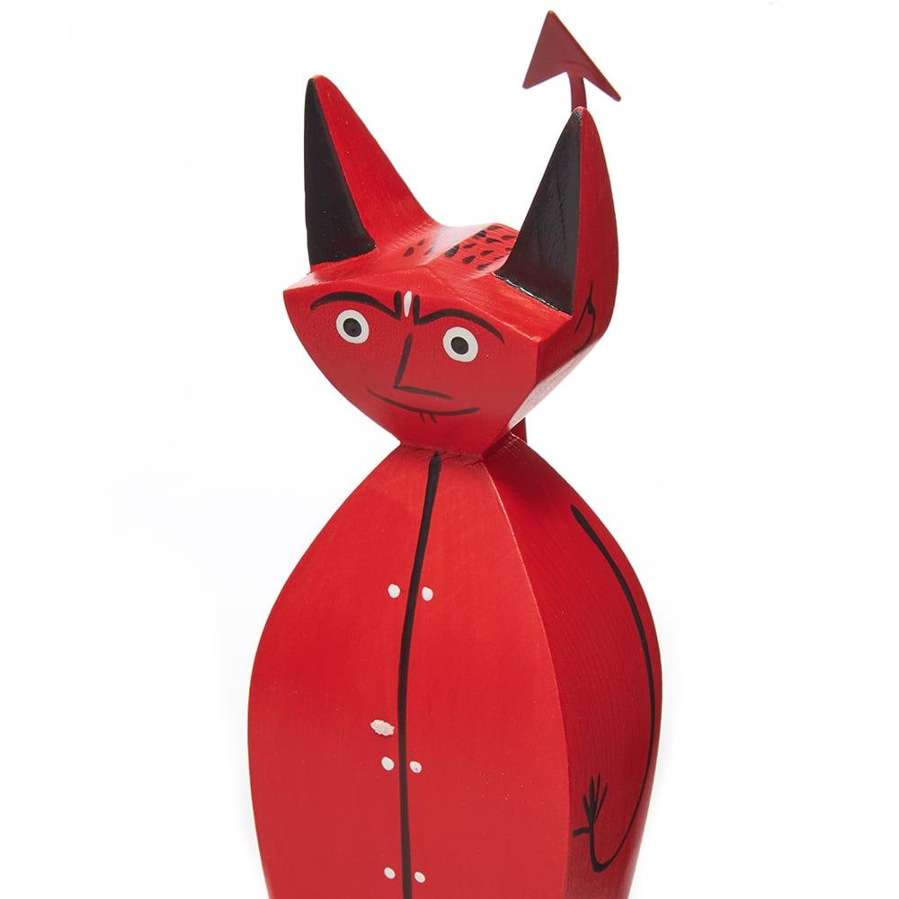 Vitra Alexander Girard 1952 Wooden Doll Little Devil - Red
