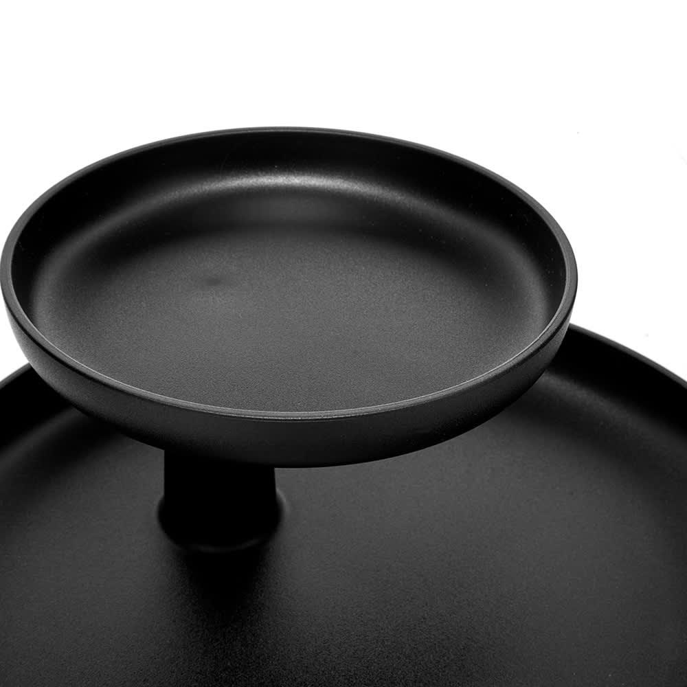 Vitra Jasper Morrison 2014 Rotary Tray - Deep Black