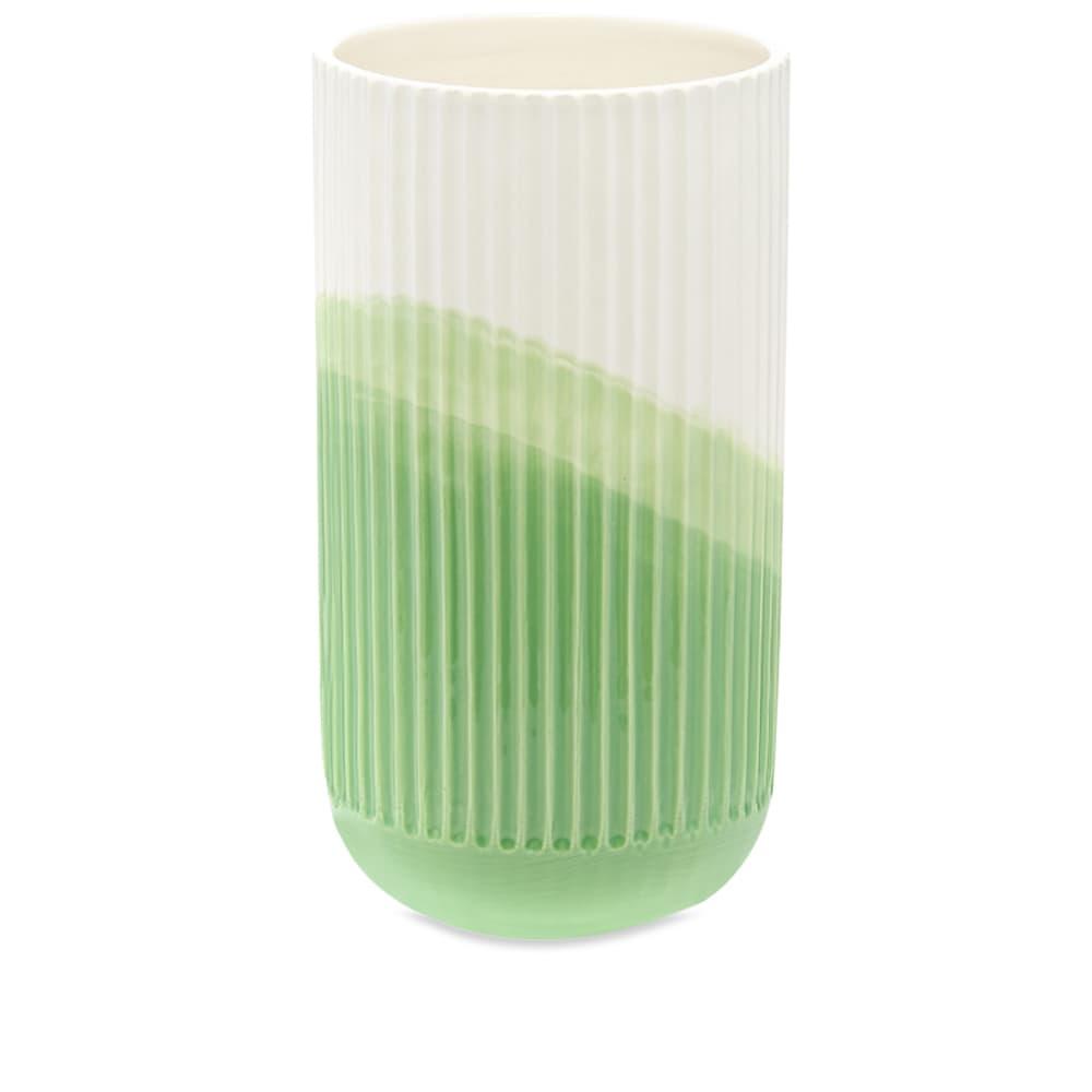 Vitra Raw-Edges Herringbone Vase - Green